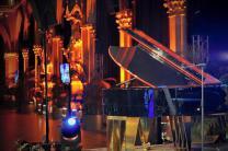 Saxophon, Mikrofon, Klaviertastatur