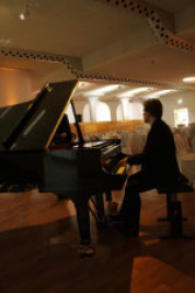 Pianist, Flügel, DeineLoungeband